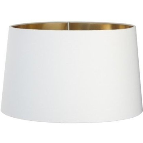 Rv Astley Opal Lamp Shade With Gold Lining - 48cm