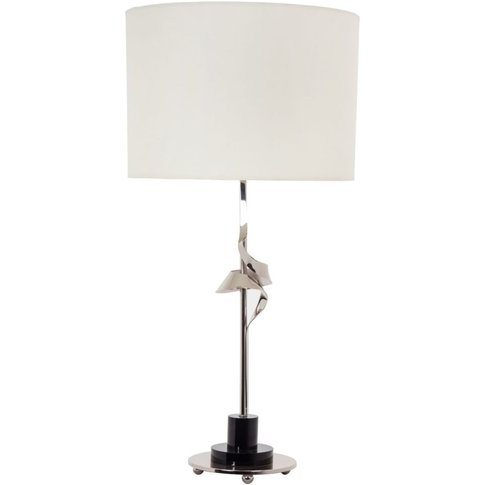 Rv Astley Oda Nickel Table Lamp