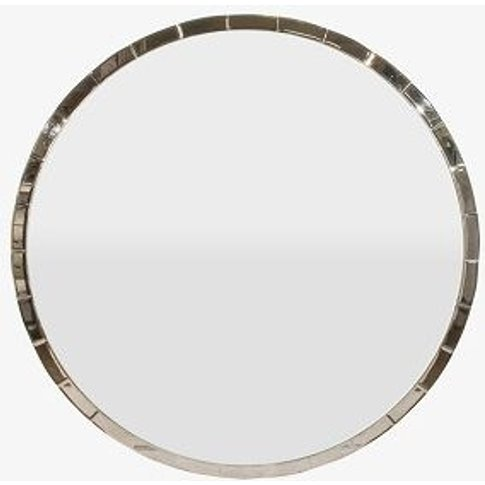 Rv Astley Berlin Antique Glass Round Mirror - 100cm ...