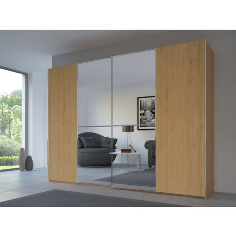 Rauch 20up Partly Solid Sliding Wardrobe In Natural ...