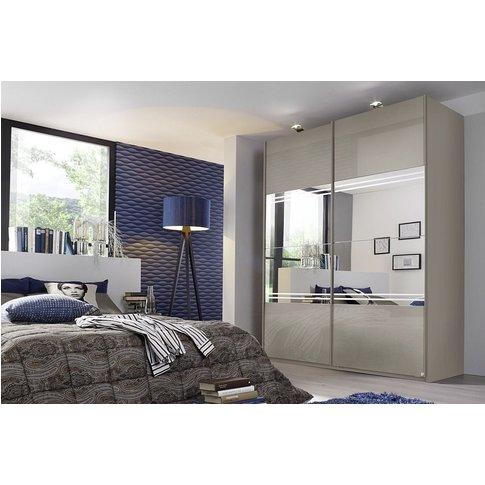 Rauch Miramar 2 Door Sliding Wardrobe In Silk Grey -...