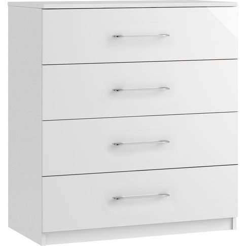 Larson 4 Drawer Chest - Ready Assembled