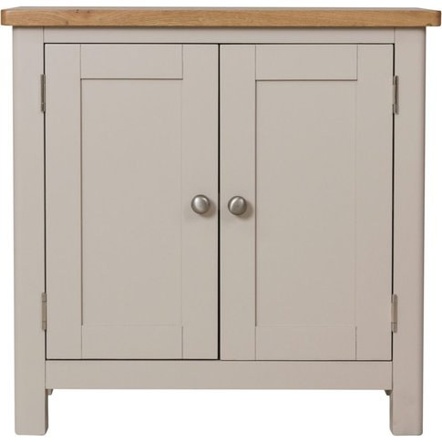 Portland Dove Grey Painted 2 Door Sideboard