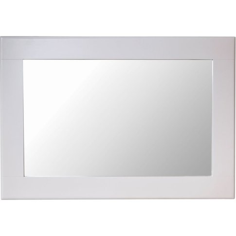 Shore Dove Grey Painted Large Wall Mirror