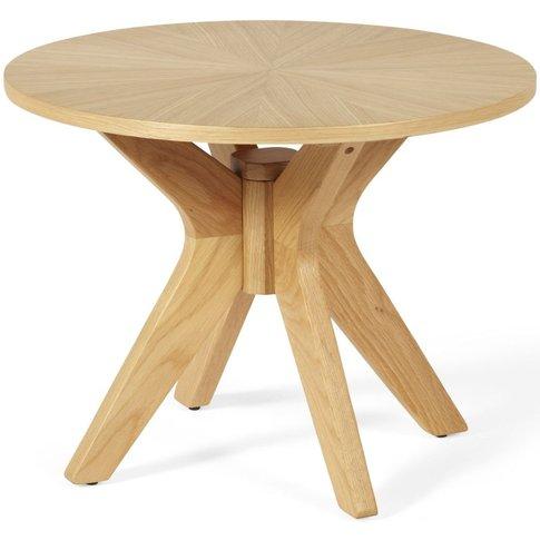 Bexley Oak Lamp Table - Serene Furnishings