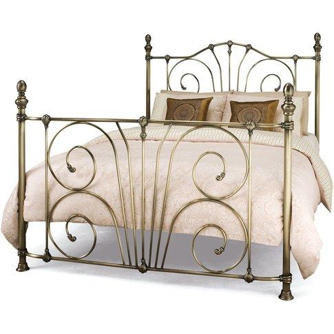 Jessica Metal Bed - Serene Furnishings
