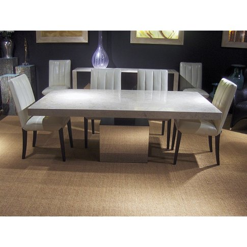Stone International Athena Dining Table - Marble And...