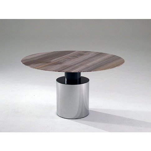 Stone International Athena Round Dining Table - Marb...