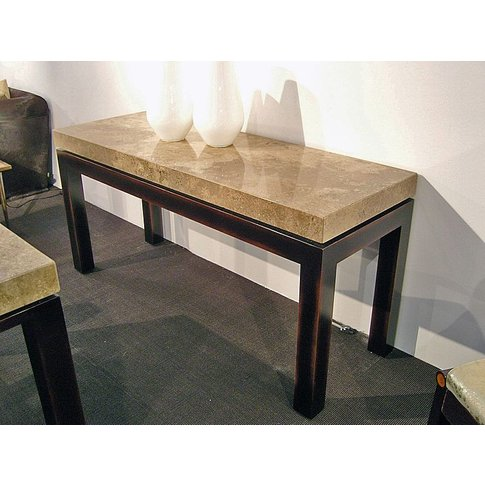 Stone International Cadi Console Table - Marble And ...