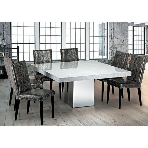 Stone International Manhattan Square Dining Table - ...