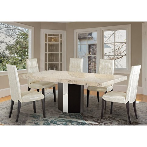 Stone International Rialto Dining Table - Marble And...