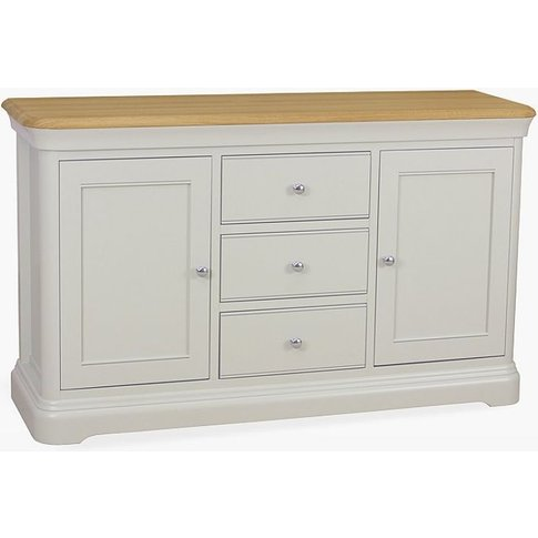 Tch Cromwell Large Sideboard - Oak And Painted