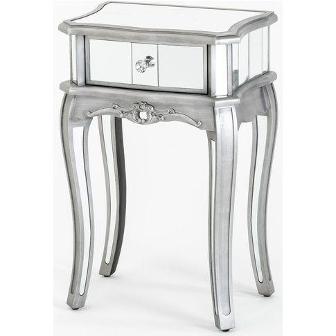 Urban Deco Tiffany French Mirrored Side Table