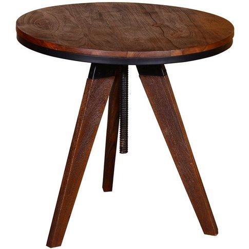 Vida Living Durango Natural Small Lamp Table