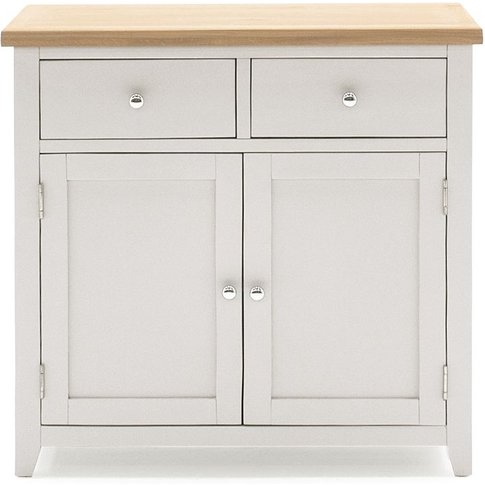 Vida Living Ferndale Grey Painted 2 Door 2 Drawer Na...