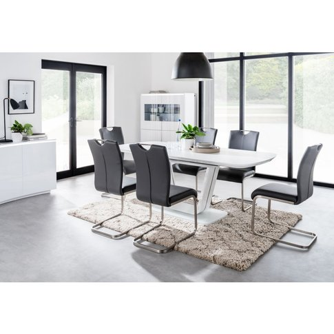 Vida Living Lazzaro Extending Dining Table And Chair...