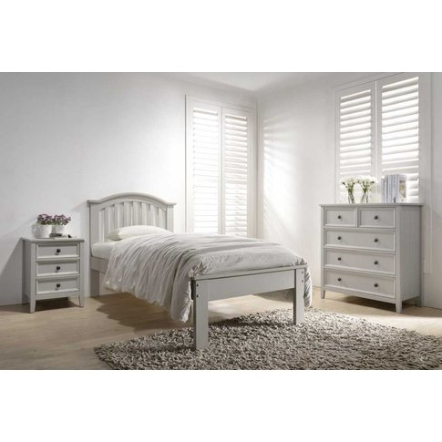 Vida Living Mila Clay Painted Curved Bed