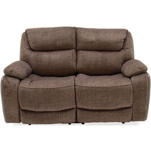 Vida Living Santiago 2 Seater Recliner Sofa - Brown ...