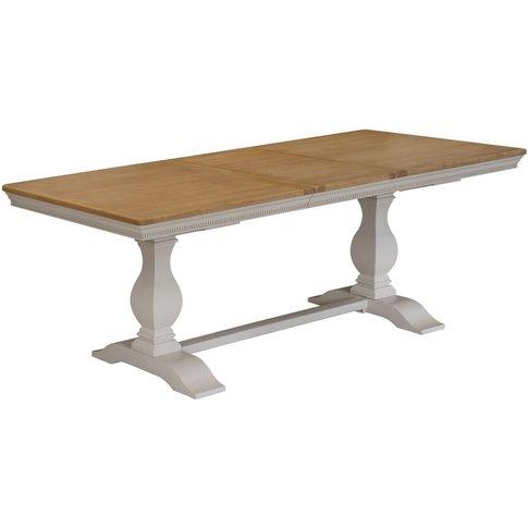 Vida Living Winchester Extending Dining Table - Oak ...