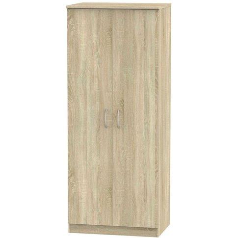Avon Bardolino 2 Door Double Wardrobe - 2ft 6in Plain