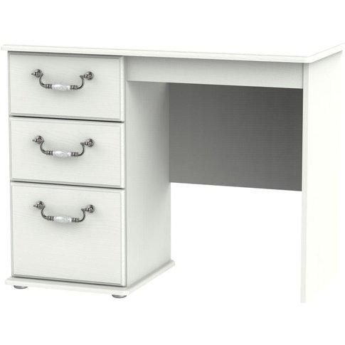 Coniston Cream Single Pedestal Dressing Table