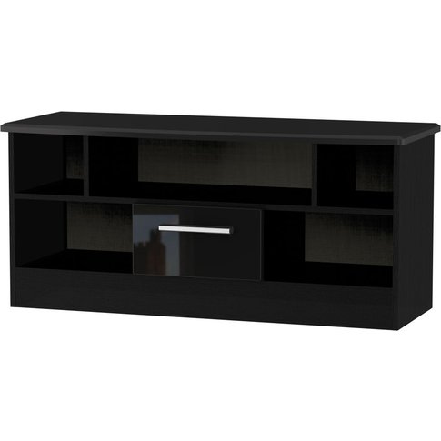 Welcome Living Room Furniture High Gloss Black Tv Un...