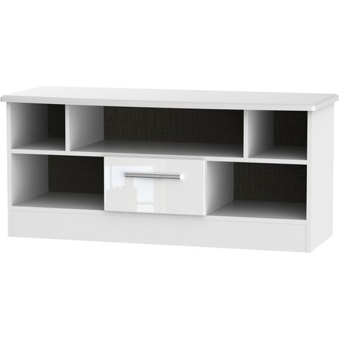 Welcome Living Room Furniture High Gloss White Tv Un...