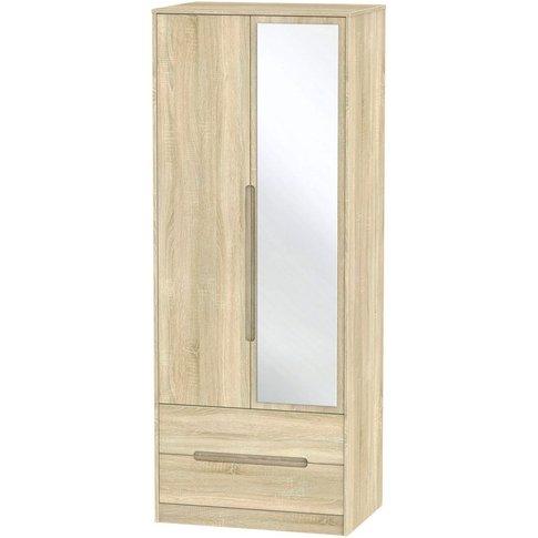 Monaco Bardolino 2 Door Double Wardrobe - Tall 2ft 6...