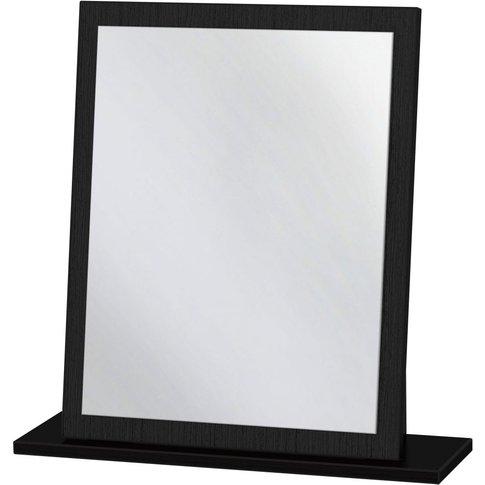 Monaco Black Small Mirror