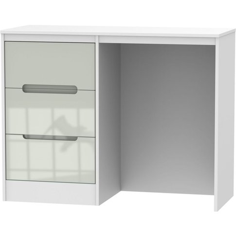 Monaco High Gloss Kaschmir And White Vanity Dressing...