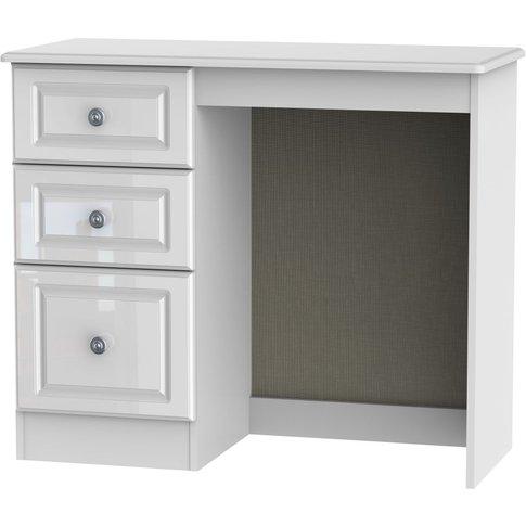 Pembroke Dressing Table - Vanity Knee Hole - High Gl...