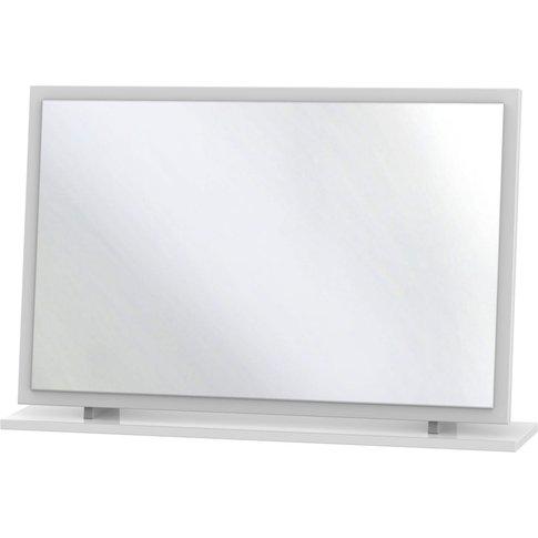 Somerset White Klein Mirror - Large
