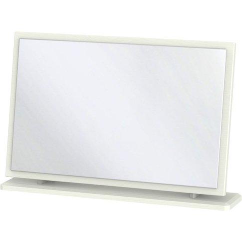 Victoria Cream Ash Mirror - Large