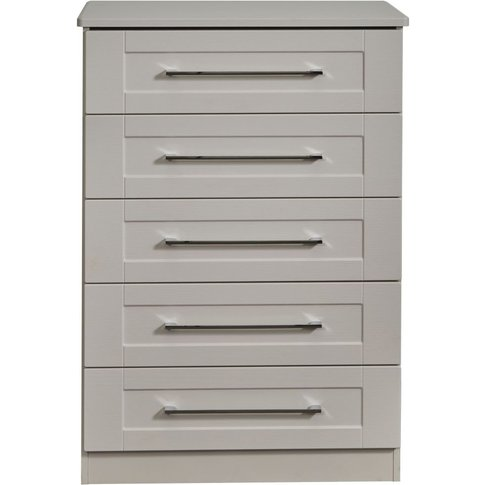 York Kaschmir Ash 5 Drawer Chest