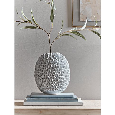 Glazed Ceramic Coral Vase
