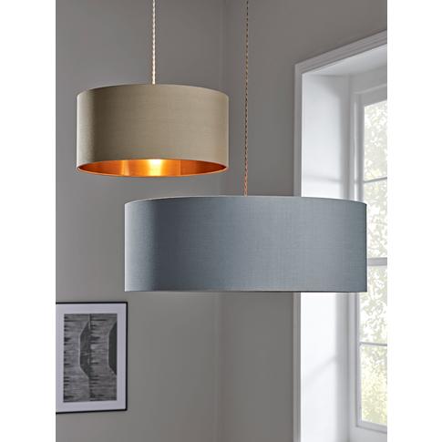 Oversized Grey & Copper Shade
