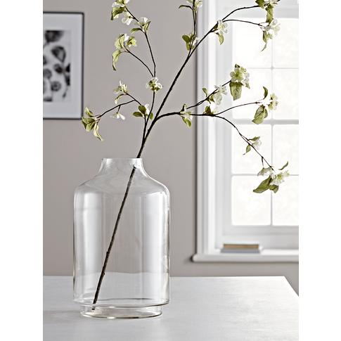 Elegant Oversized Glass Vase