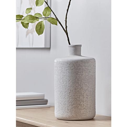 New Grid Glazed Bottle Vase