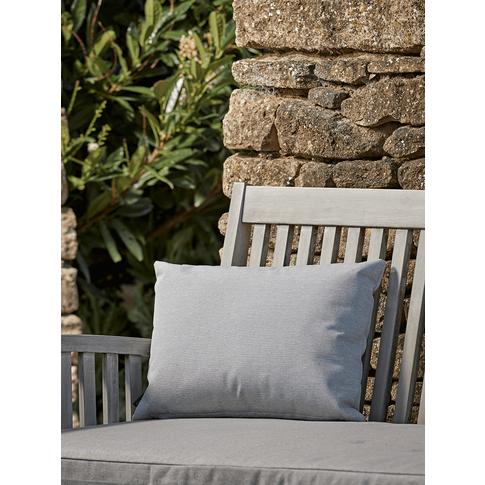 New Indoor Outdoor Rectangular Cushion - Soft Grey