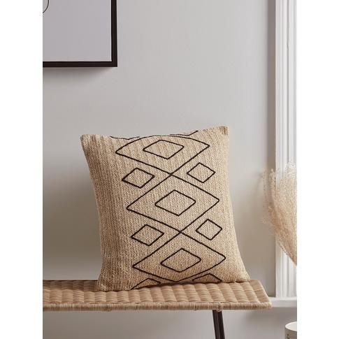 New Woven Raffia Cushion