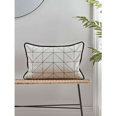 New Velvet Monochrome Piped Cushion