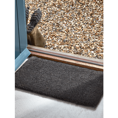 Thick Doormat - Charcoal