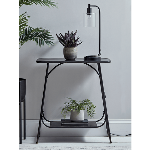 Slimline Industrial Console Table