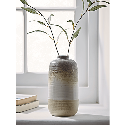 New Speckle Glaze Dipped Vase