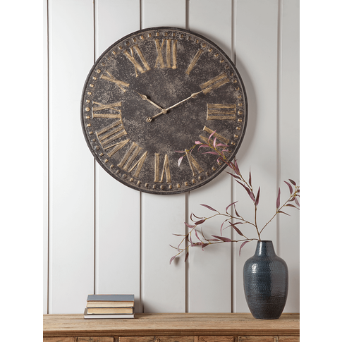 Antique Metal Clock