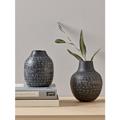 NEW Two Hammered Effect Vases