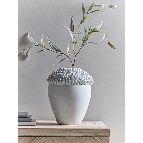 New Glazed Ceramic Anenome Vase