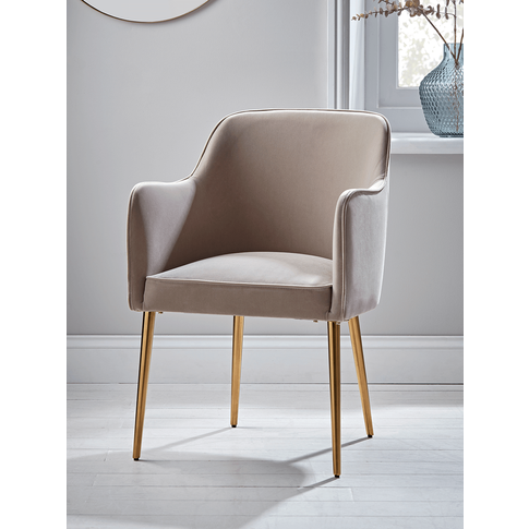 New Mida Velvet Dining Chair
