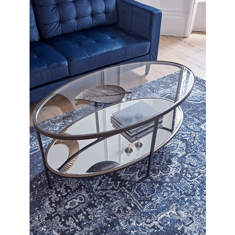 Glass Display Coffee Table