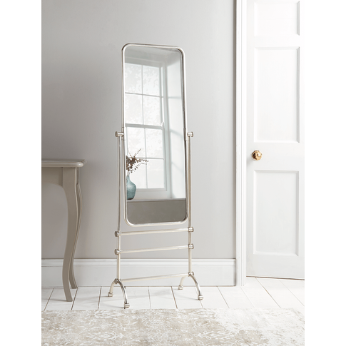New French Floor Standing Mirror